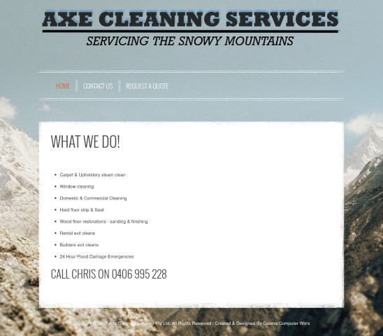 Axe Cleaning Services